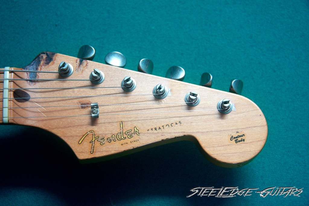 Blackie Headstock