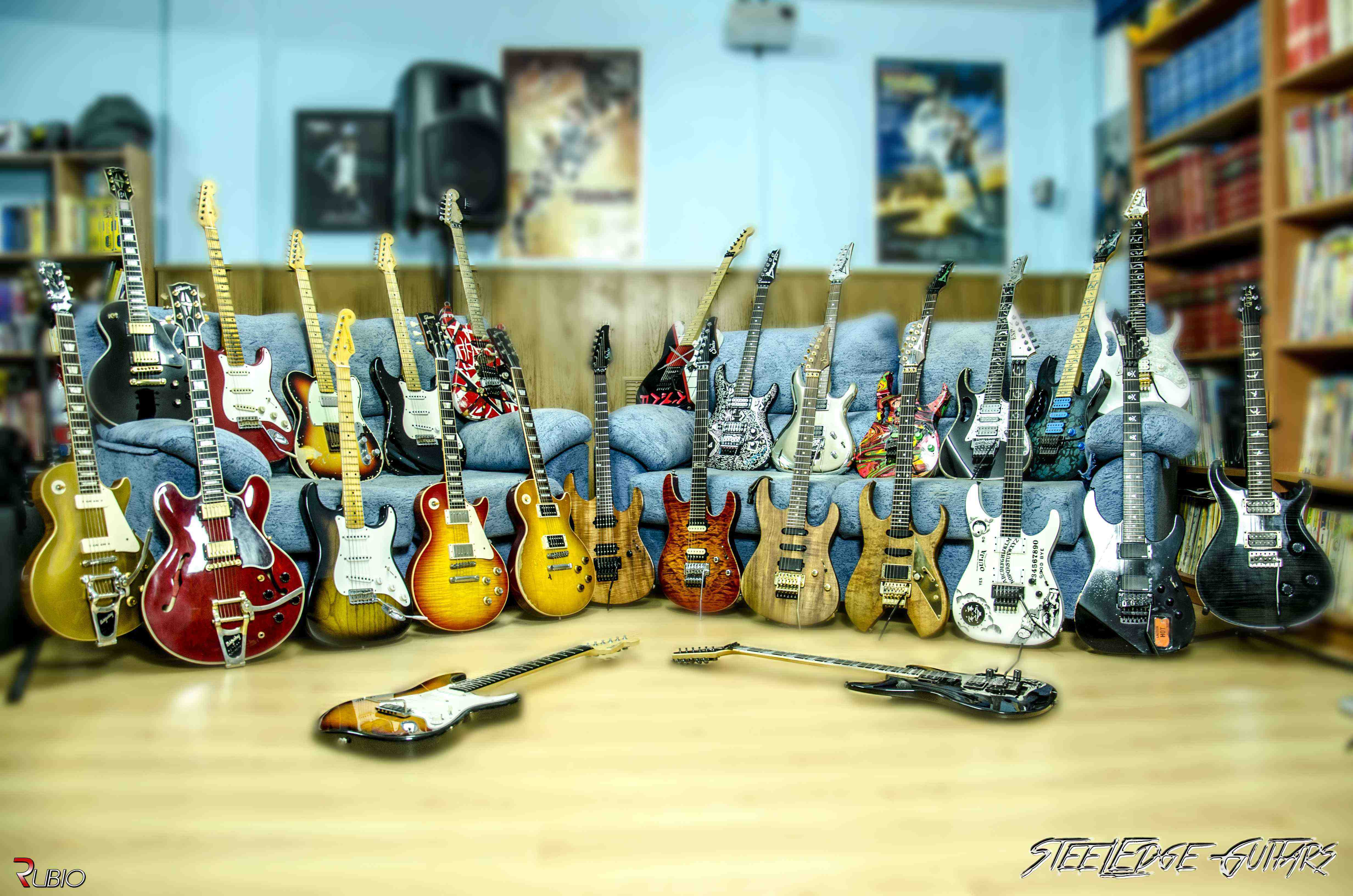 Coleccion Guitarras Sofa