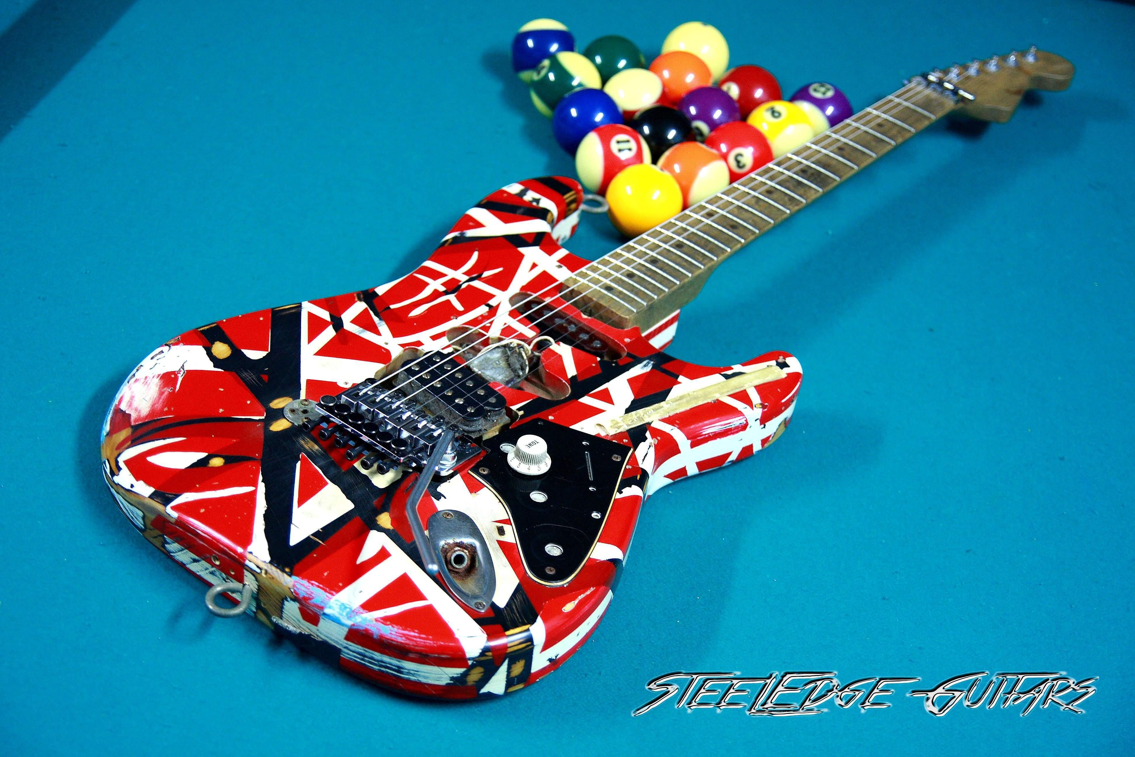 Fender Evh Frankenstein Steeledge Guitars